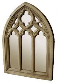 Ideas Design For Arched Window Mirror Gothic Church Mirror Two Arch Antique Window Frame 22 Inches High