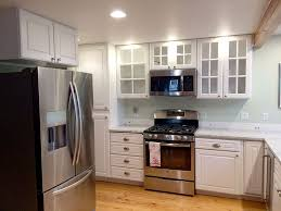 painting cabinets white before and after sound finish cabinet painting refinishing seattle painted