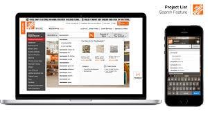 home depot u2013 project list search feature u2013 gerald willis