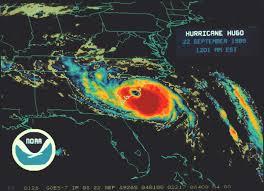Hurricane Map Hurricane Hugo