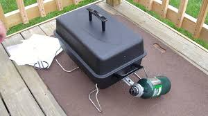 review of char broil 190 table top gas grill model 465133010 youtube