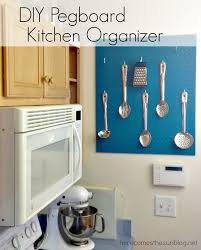 kitchen pegboard ideas diy pegboard kitchen organizer here comes the sun