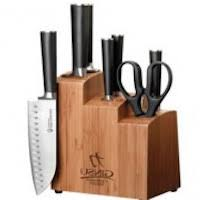 ginsu kitchen knives review ginsu 7108 chikara 8 stainless steel knife set with