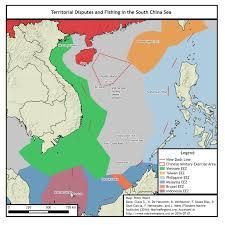 South China Sea On Map by China U0027s Great Fishnet Jamestown