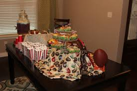 a blissful bash a football baby shower