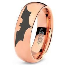 batman tungsten wedding band ring mens from zealot designs my