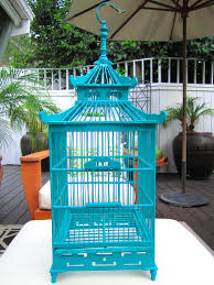 Blue Bird Home Decor A Decorative Pagoda Style Bird Cage My New Home Decor Obsession