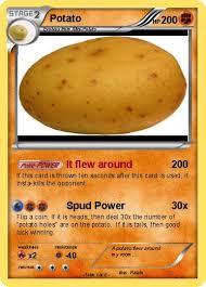 Potato Flew Room Pokémon Potato 579 579 Flew Pokemon Card