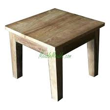 Pine Side Table Side Table Reclaimed Side Table Reclaimed Teak Side Table