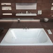 Menards Bathtub Veronesse 40x60 In Rectangular Air And Whirlpool Jetted Drop In