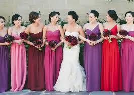 colored bridesmaid dresses top ten wedding colors for summer bridesmaid dresses 2016 tulle