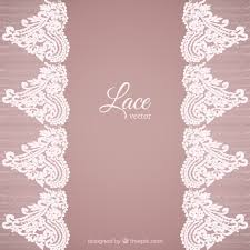 lace background in ornamental style vector free