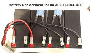 how to replace batteries on an apc 1400xl rack mount ups with