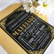 gatsby invitations great gatsby wedding invitations wedding ideas