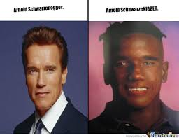 Funny Celebrity Memes - arnold transform by adil meme center