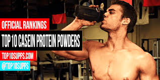 Casein Protein Before Bed Best Casein Protein Powders Top 10 Ranked Top10supps