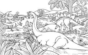 dinosaur polacanthus and scelidosaurus coloring page dinosaur