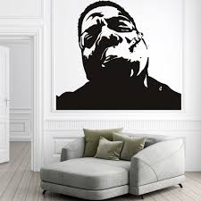 icons celebrity wall stickers iconwallstickers co uk biggie smalls notorious big icons celebrities wall stickers home art decals
