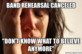 Band Practice Meme - rehearsal