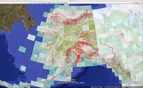 Google Maps Alaska by The Roaming Dials 2014