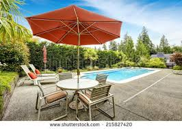 Patio Umbrella Table And Chairs Patio Umbrella Stock Images Royalty Free Images U0026 Vectors