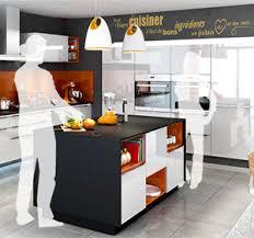 cuisine en l avec ilot central cuisine avec ilot central everest cuisines you
