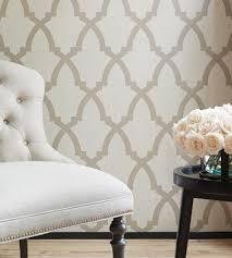 interior design trend trellis geometric wallpaper brock trellis