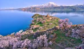 ruins ancient castle discovered beneath turkey u0027s lake van mnn