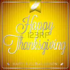 sash happy thanksgiving card in vector format royalty free
