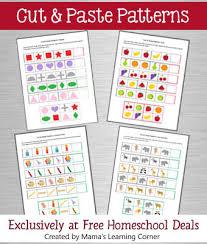 free download cut u0026 paste patterns printable packet free