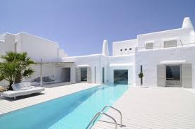 Beach House Designs Minimal Modern Summer House In Paros Cyclades Greece Design