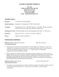 Sample Resume Computer Programmer Pleasant Sample Resume Programmer Analyst With Programmer Resume
