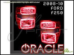 2008 ford f250 tail light bulb 08 10 ford f250 f350 led halo rings headlights bulbs