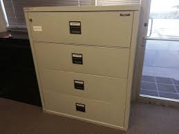Fireproof Storage Cabinet Used Fire King Fireproof Lateral Filing Cabinets Pertaining To