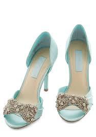 betsey johnson blue wedding shoes betsey johnson gleam heel in blue mod retro