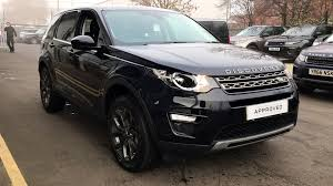 land rover discovery sport black used land rover discovery sport 2 0 td4 180 se tech 5dr auto