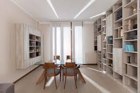 libreria contemporanea arredo open space e libreria a ponte contemporaneo sala da