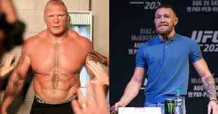the only brock lesnar mentions conor mcgregor and it s