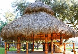 Tiki Hut Material Build A Natural Tiki Bar In Your Backyard For Enjoyment Palm Huts