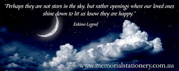 eskimo legend beautiful quote remembering loved ones lost