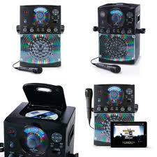 singing machine with disco lights karaoke singing machine disco lights for adults kids girls