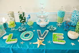 wedding candy table 33 blue theme party candy table ideas