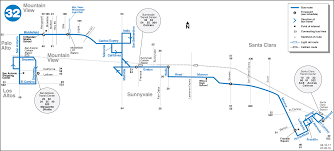 Amtrak Capitol Corridor Map by 32 Map Gif