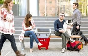 soofa bench u2014 soofa
