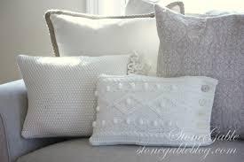 knit home decor sweater pillow tutorial stonegable