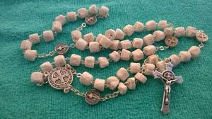 unique rosaries st benedict rosary handmade of rock unique rosaries from