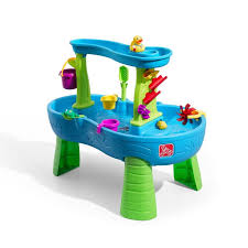 step 2 rain showers splash pond water table kids toy table finallyfastblog com