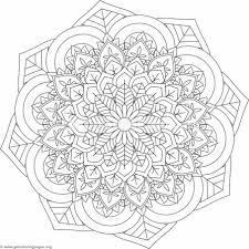 flower mandala coloring pages 501 u2013 getcoloringpages org