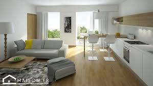 sejour cuisine salon sejour cuisine ouverte idées décoration intérieure