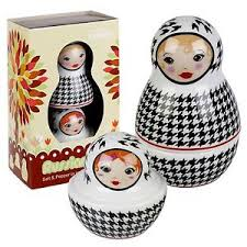 novelty salt and pepper shakers russian doll style novelty salt pepper shakers pots cellar cruet